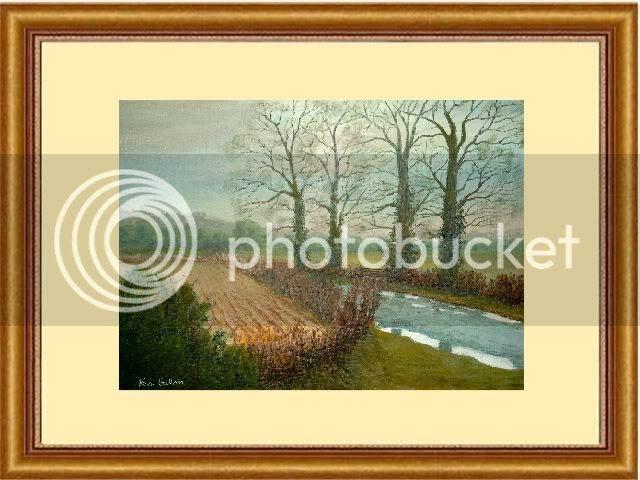 The Lane in Winter - (c) www.artyman.co.uk