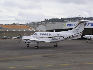 Beech King Air B200 ZK-MAN
