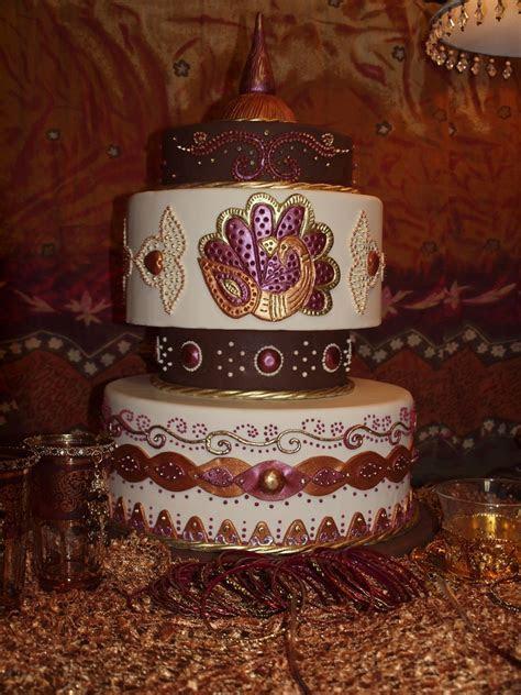 My Mehndi Cake Design   CakeCentral.com