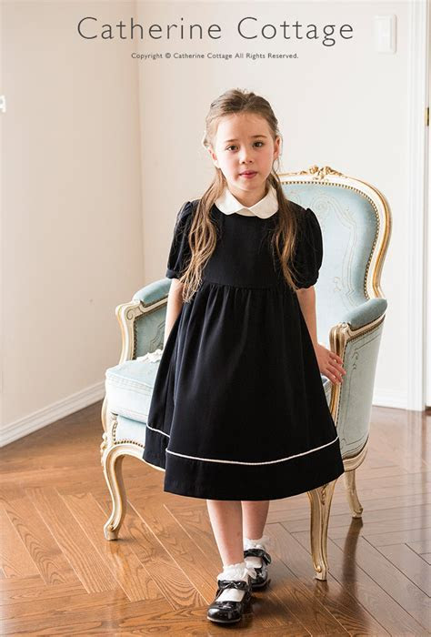 Catherine Cottage: Round collar kids dress the right dress