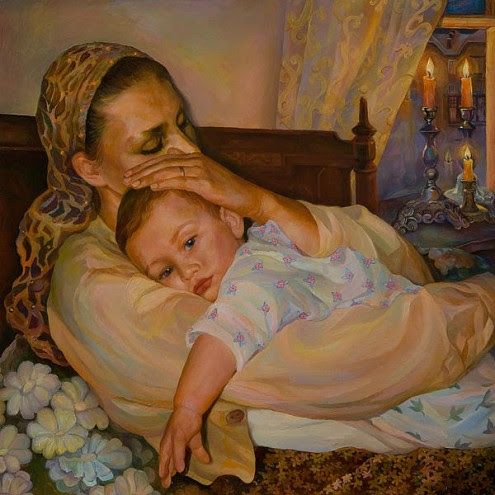 mother-with-child-elena-kokin