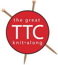 TTC Knit-A-Long logo
