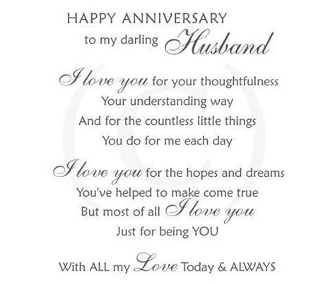 Wedding Anniversary Quotes For Husband   Happy Anniversary