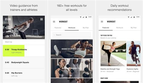 top   workout apps  android