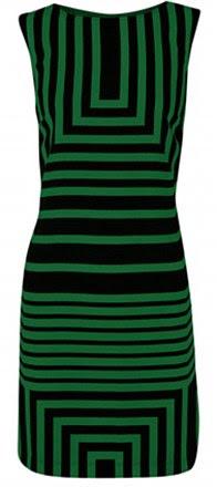 Vestido verde e preto, R $ 30, oasis-stores.com