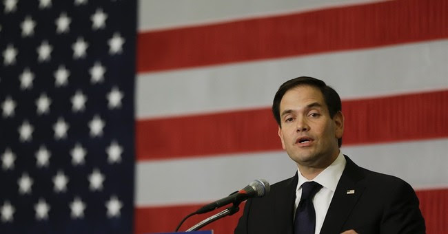 Rubio's Defense of the GOP Majority