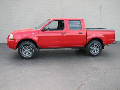 2002 Nissan Frontier 4X4 hd pictures