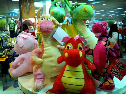Dragon stuffed toy are IN by popazrael