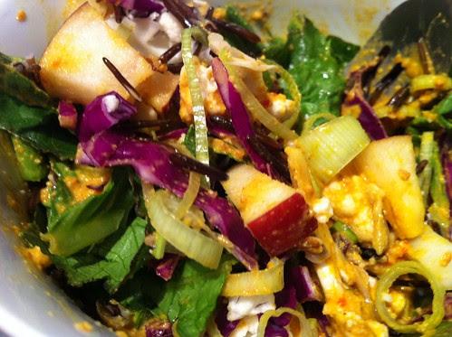 cashew curry salad by unglaubliche caitlin