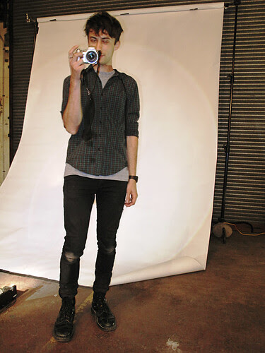 Portrait, Handy Cam Artist, Spoke + Spool Launch
