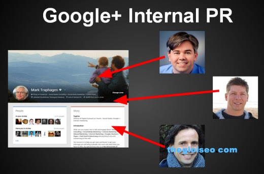 Tiểu sử và Google + giúp tạo uy tín tìm kiếm như thế nào?