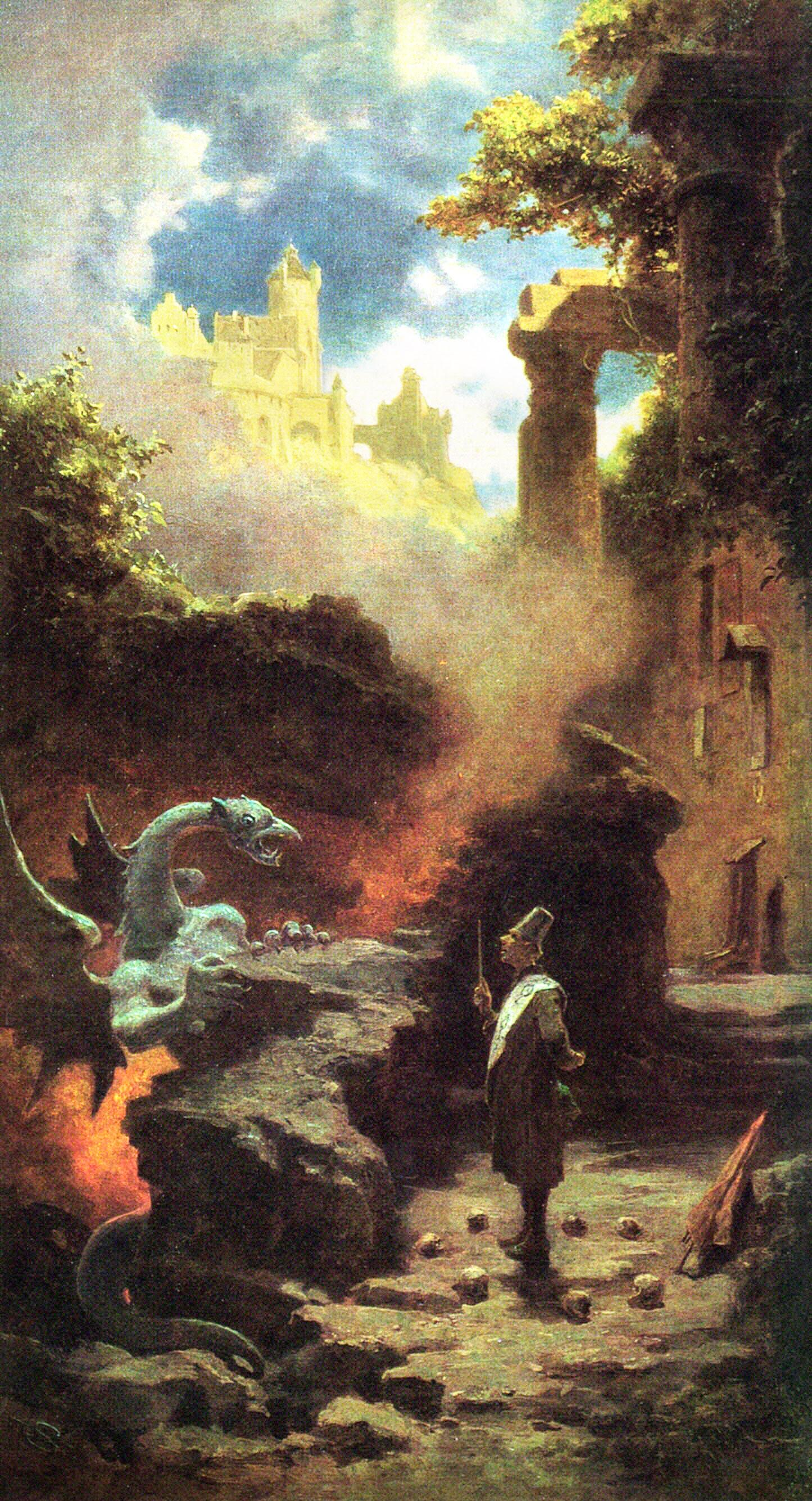 Carl Muenchen Spitzweg -  The Wizard