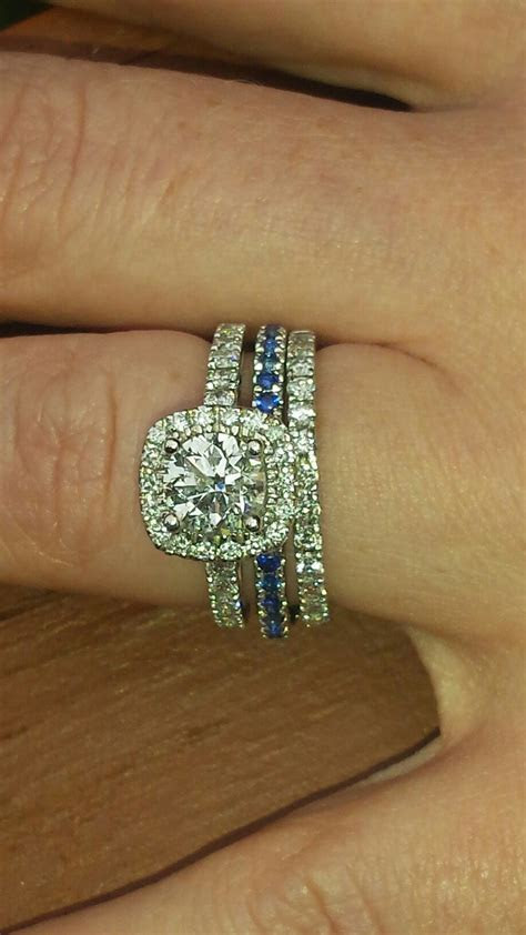 PD Engagement ring. Police wife. Police wedding pictures