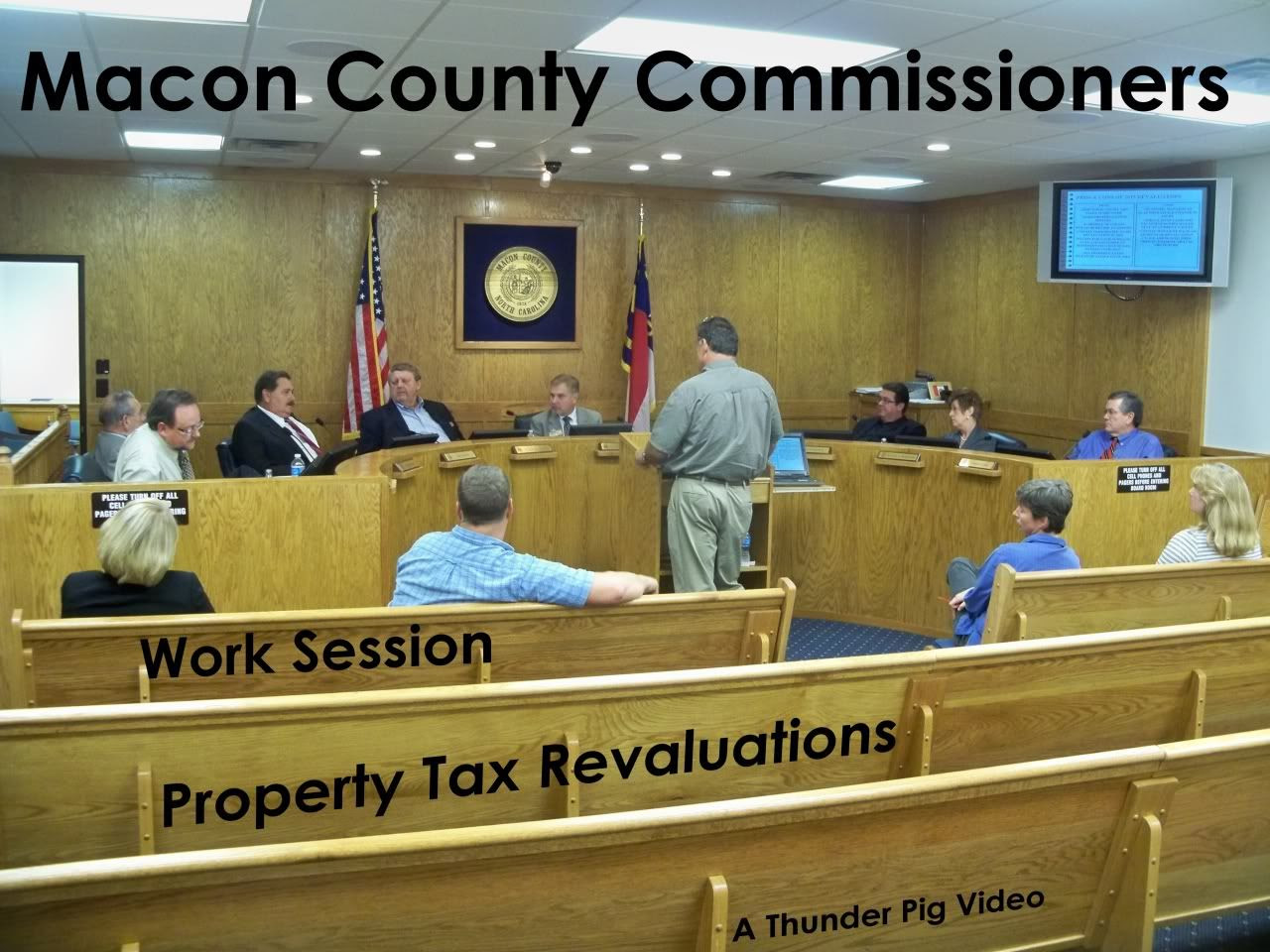 Macon County Commissioners Work Session for Sept 22  Photo and Graphics by Bobby Coggins