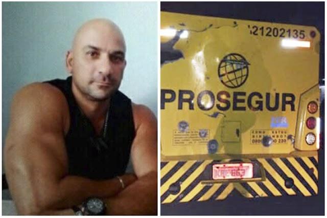 Vigilante itapebiense Elivar Nadier é morto durante invasão da Prosegur
