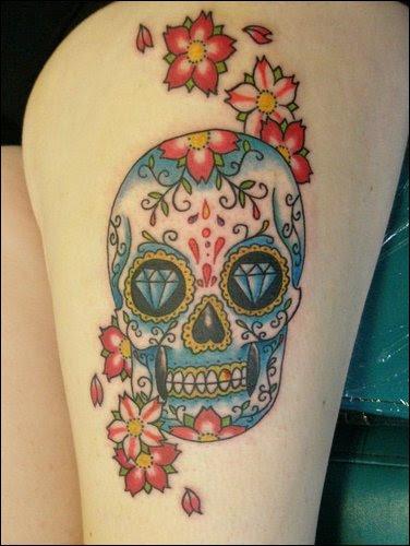Sugar Skull Tattoo Meaning Nsfw Tattoomagz