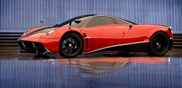 A 2013 Pagani Huayra that will be featured in TRANSFORMERS 4.