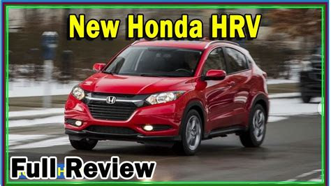 Honda Hrv 2020 New Features Review