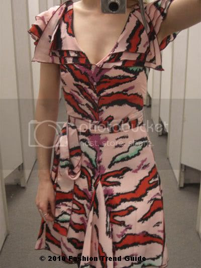 Zac Posen for Target tiger print dress