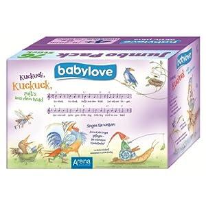 Babylove Windeln Größe Maxi Plus 9-20 kg Jumbopack, 76 Stück