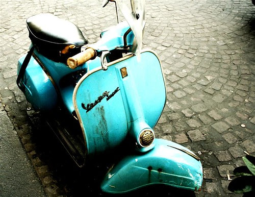 Vespa in Naples by BeccaNelson