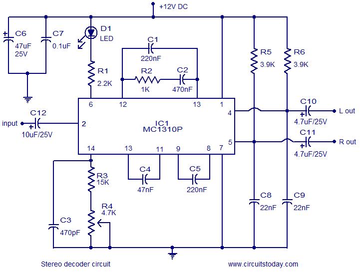 Fm stereo decoder circuit