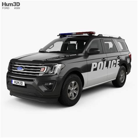 ford expedition police   model vehicles  humd