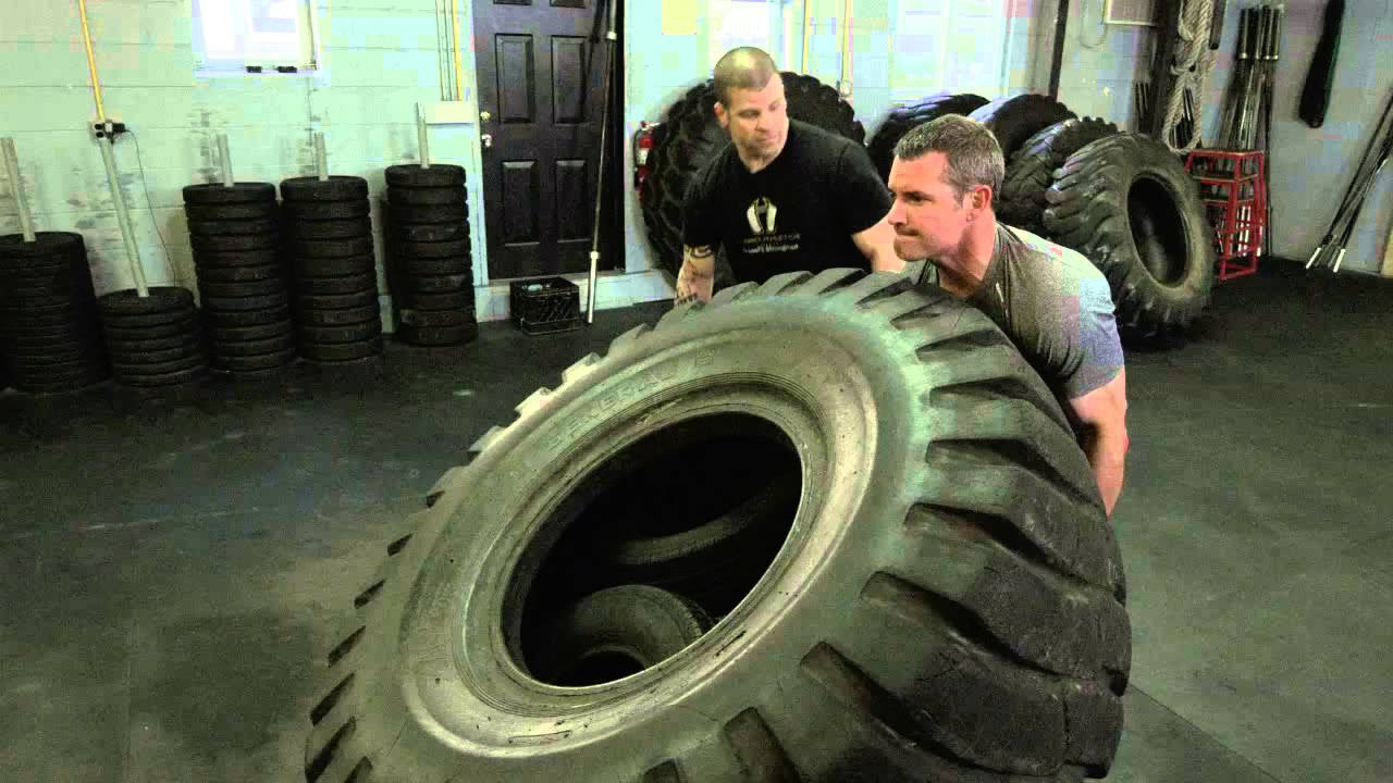 Crossfit Tire Technique Youtube