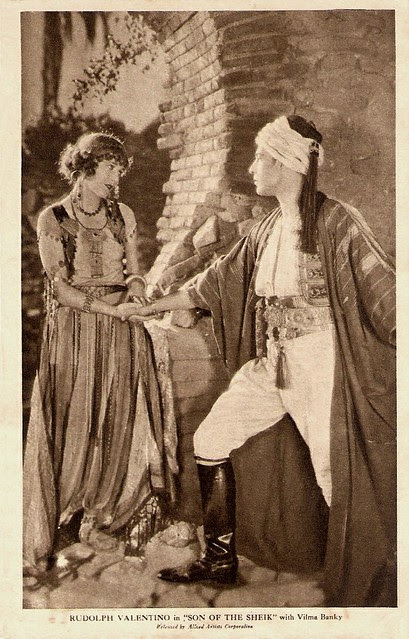 Vilma Banky, Rudolph Valentino, Son of the Sheik