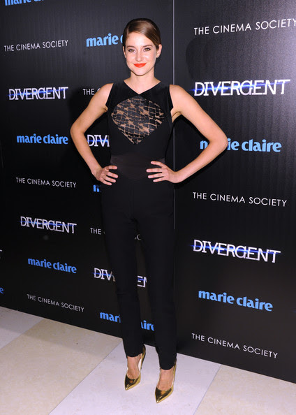 Shailene Woodley - 'Divergent' Screening in NYC