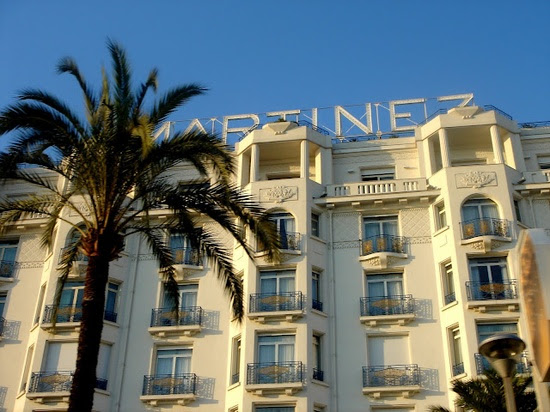 Cannes, Hotel Martinez