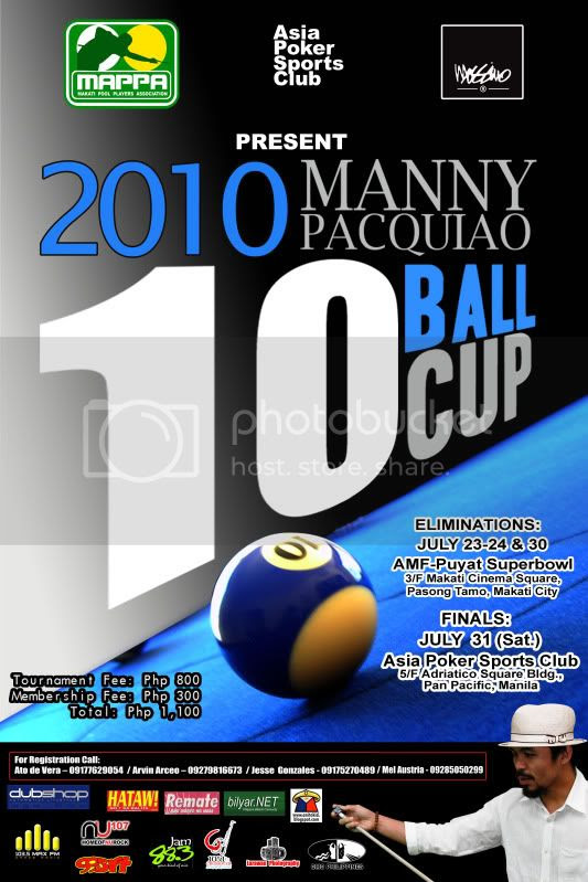 Manny Pacquiao 10-Ball Cup Image