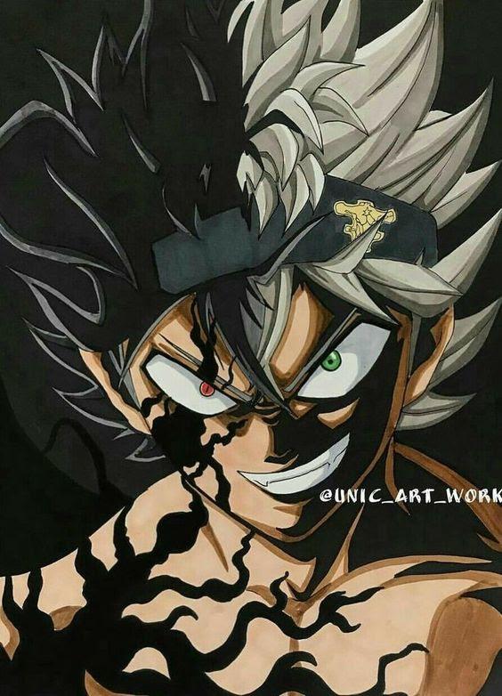 Black Clover Asta Demon Wallpaper
