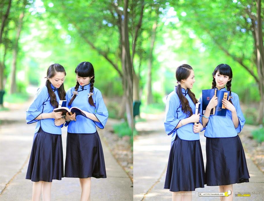 đồng phục nữ sinh trung quốc