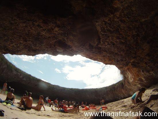 الشاطئ المخفي+ثقف+نفسك شاطئ الحب المخفي في جزر ماريتا
