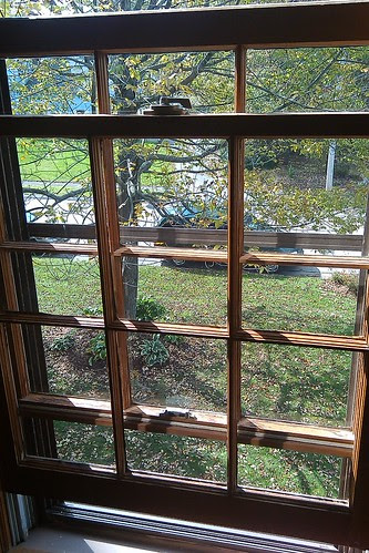 After: the clean window