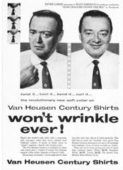 Peter Lorre Shirt Ad