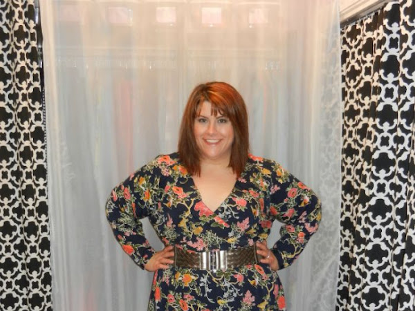 What I Didn't Wear: ASOS Curve Bird Print Wrap Front Dress