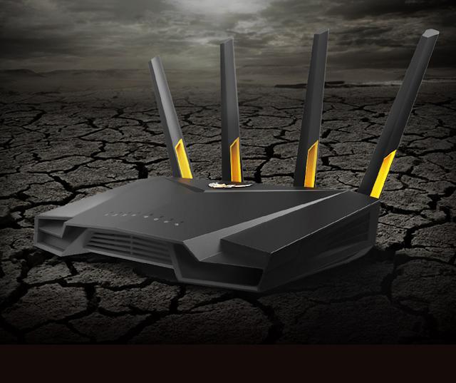 【網店報價$1,499】ASUS TUF-AX3000 雙頻 WiFi 6 無線路由器