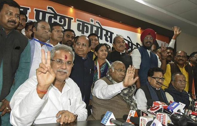 Loan waiver first, says Bhupesh Baghel