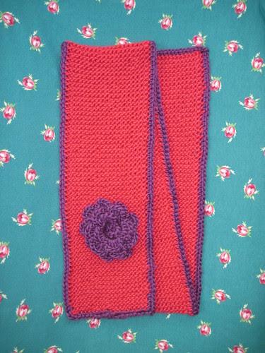 frambozen sjaal