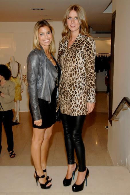 Laura Katzenberg and Nicky Hilton