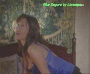 Rita Seguro sensual na novela Anjo Meu