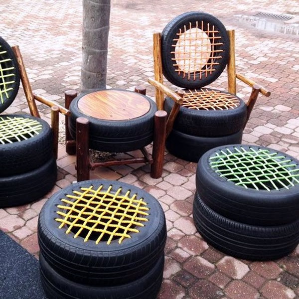 Smart Ways to Use Old Tires (22)