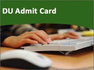 Delhi University Sol Du Admit Card 2018 For Pg And Ug