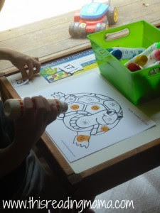 Letter T Numbers 1-20 Activity