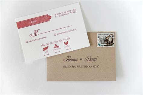 Enclosure/Reception Card Question
