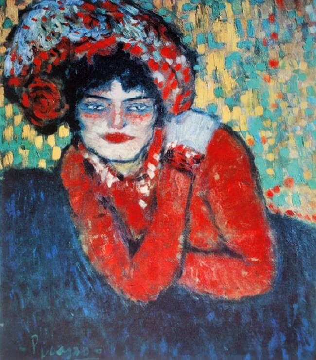 Waiting, 1901 by Pablo Picasso
