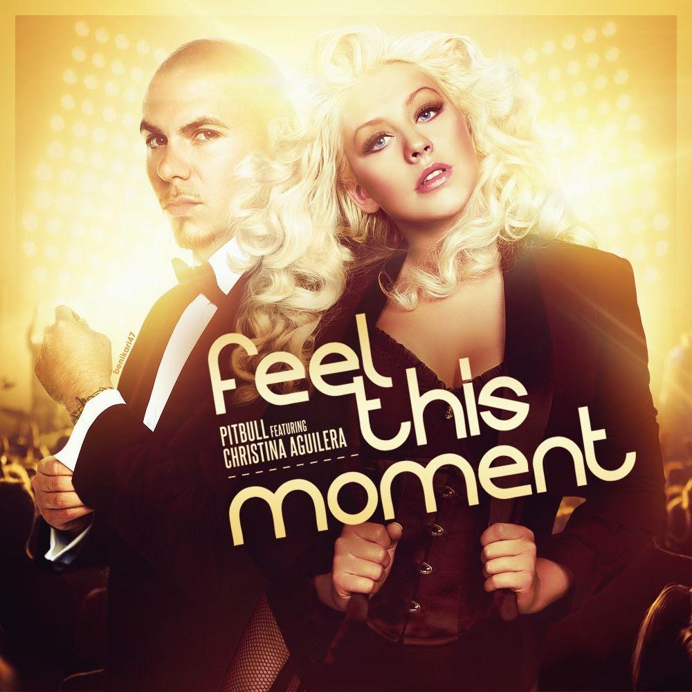 Christina Aguilera : Feel This Moment (Pitbull Single Cover) photo pitbull-christina-feelthismoment-celebritybug.jpg