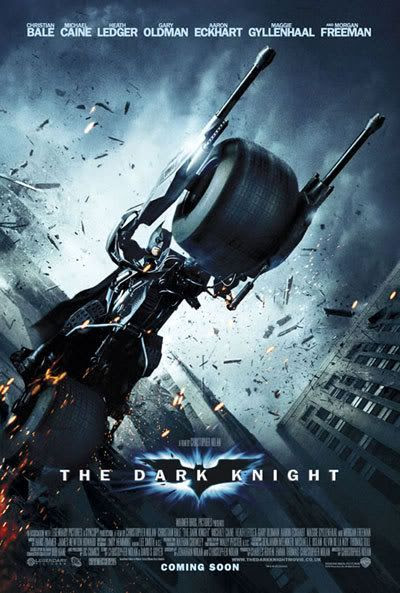 The newest international poster for THE DARK KNIGHT.